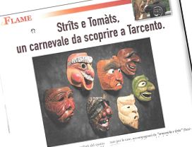 Strits e Tomats, un carnevale dal scoprire a Tarcento